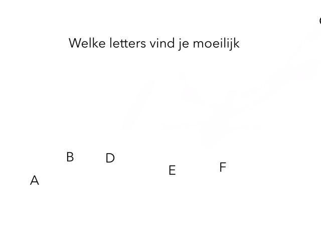 Speed Letters A B D E F by EJ Studio,s
