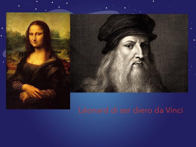 Leonardo de Vinci by alexandre murray
