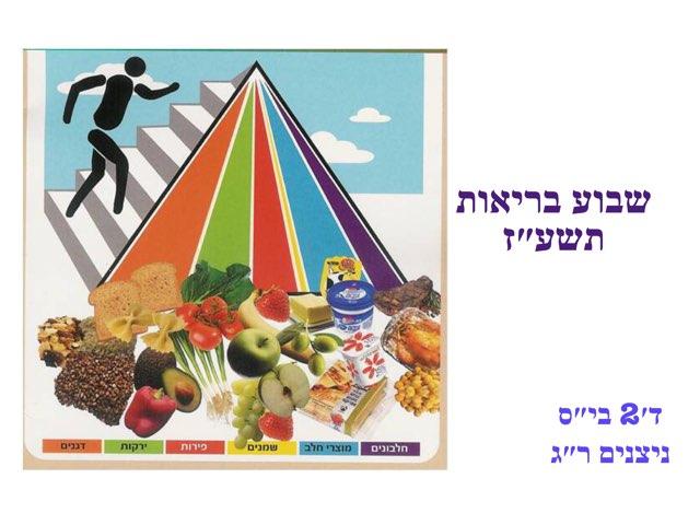 פירמידת המזון by Reut Gavish