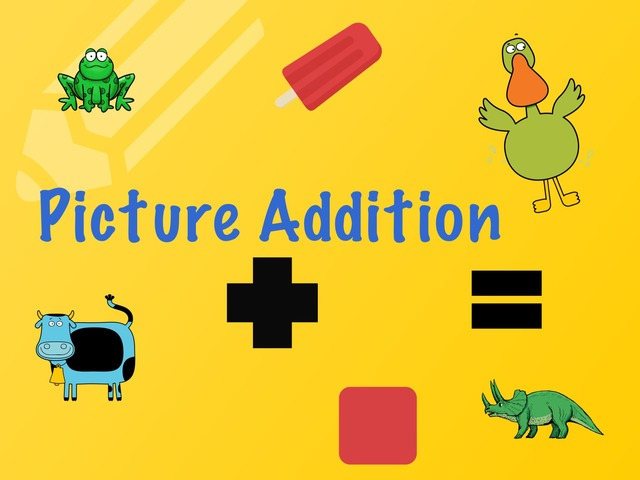 Picture Addition 1-9 by Kathy Gordon