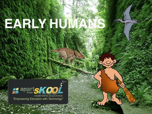 Early Humans by TinyTap creator
