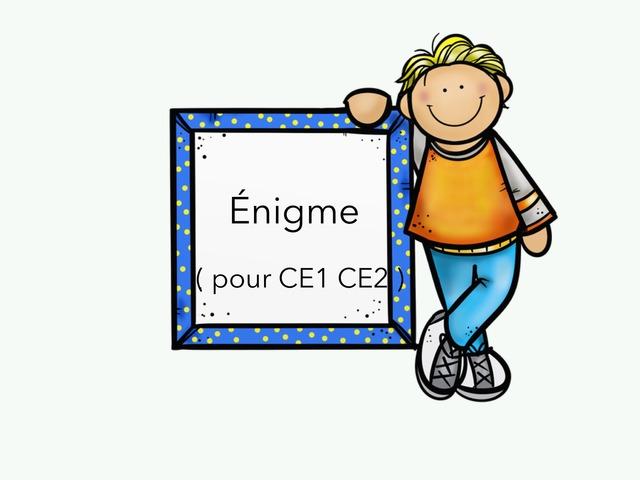Énigme  by Lin