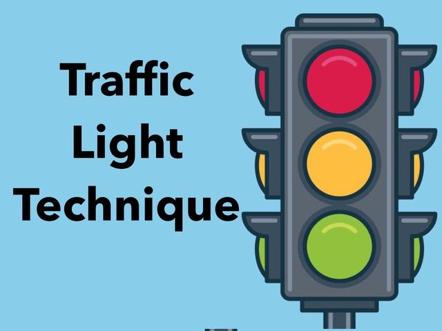 Traffic Light For Emotions by Yam Goddard