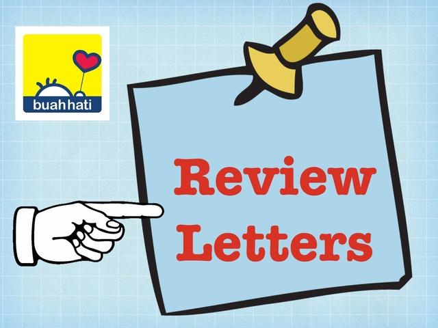 Review Letters by Gundala Petir