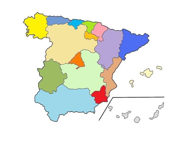 Comunidades Autónomas  by Marta Celdran Garcia