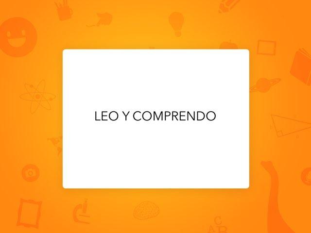 LEO Y COMPRENDO by LAURA PARDO