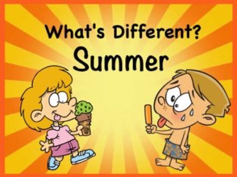 Whats Different - Summer by Ellen Weber