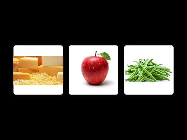 Identifying Fruits, Veggies, Meats by Nicole Lombardi
