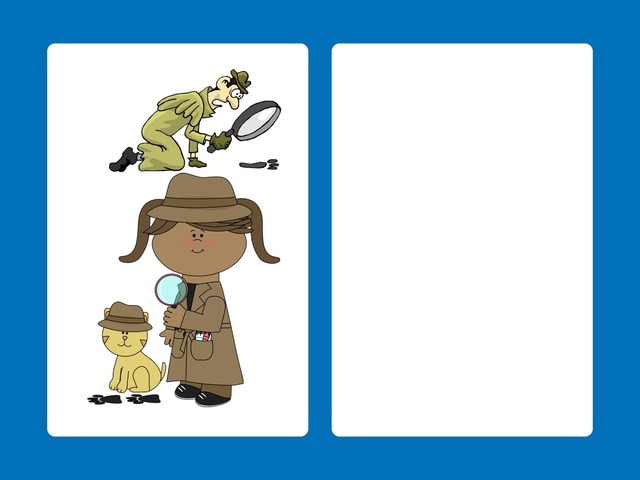 Detectives puzzle  by Sarah Strouthopoulos