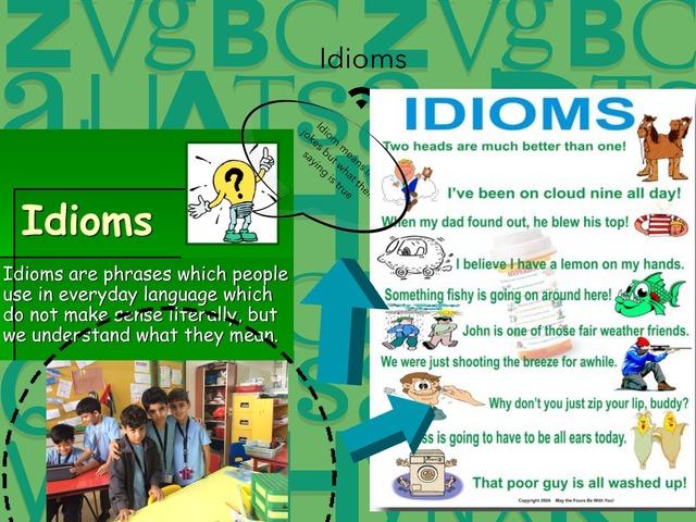 Idioms by Maha Boksmati