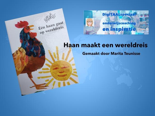 Haan Maakt Een Wereldreis by Marita Teunisse