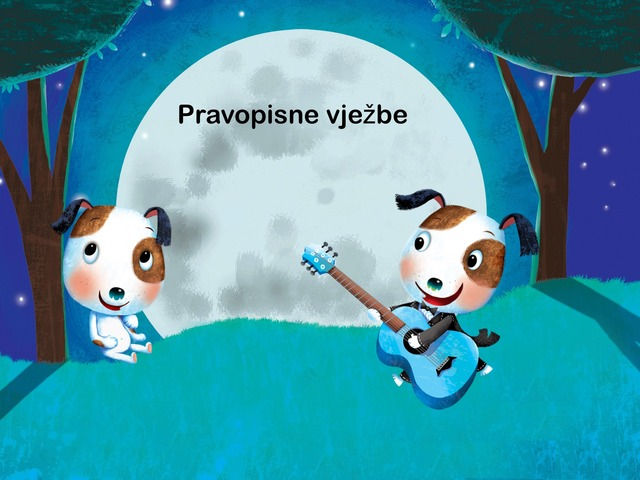 Pravopisne vježbe by Sonja Perković