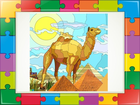 The Camel Puzzle  2 by Liat Bitton-paz