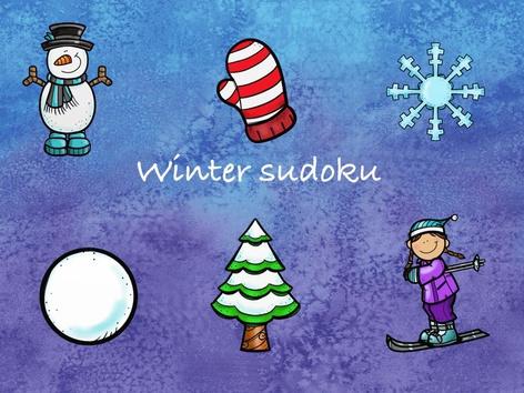 Winter sudoku by Nelleke Lürsen