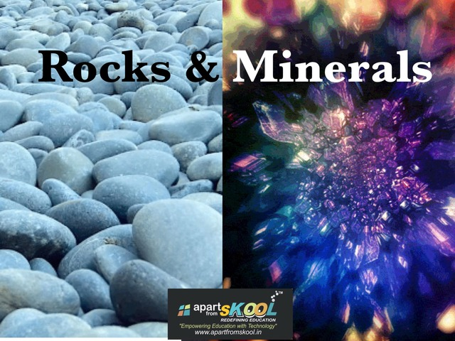 Rocks And Minerals by TinyTap creator