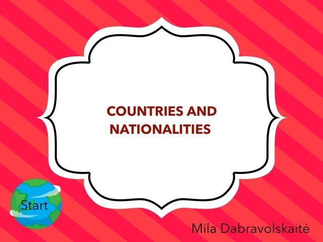 Countries Mila by Penktokai VPG