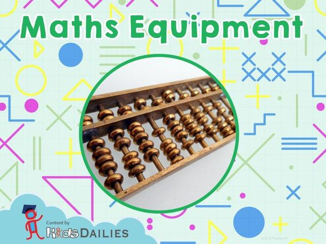 Maths Equipment by Kids Dailies