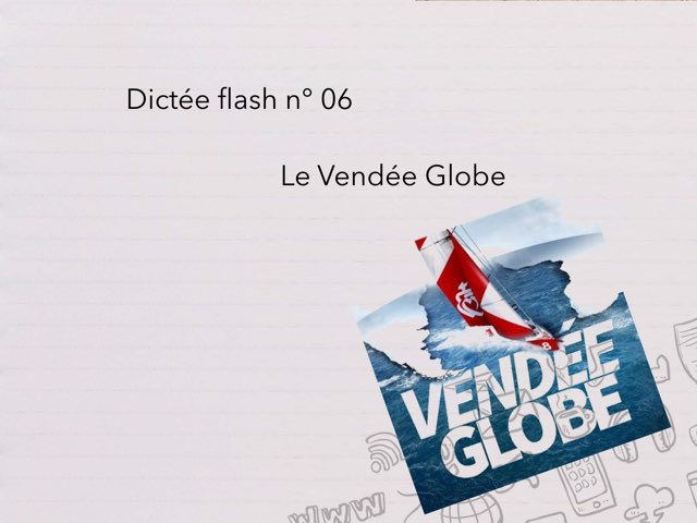 Dictée Flash N°06 by Cédric Houbrechts