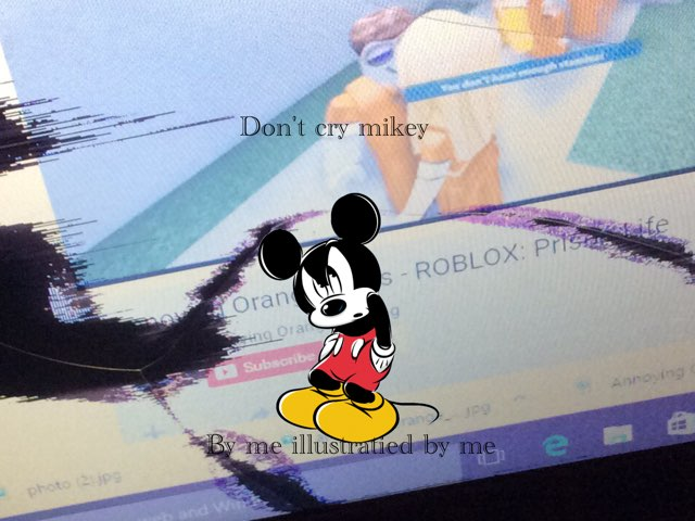 Don't Cry Mickey by Jasmine Walker