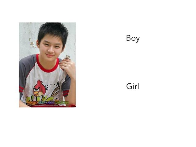 BOY OR GIRL by Mariah Ruane