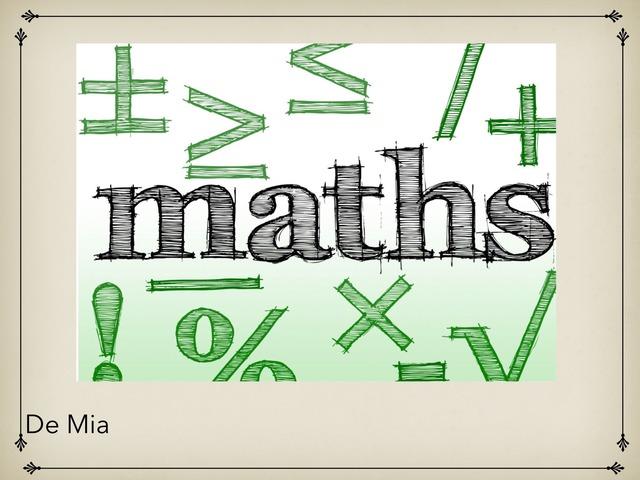 Math by Mia Rykowska Pelletier