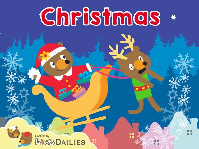 Christmas by Kids Dailies