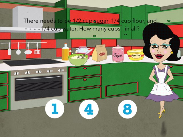 Math Fun In The Kitchen by Elm School Grade One