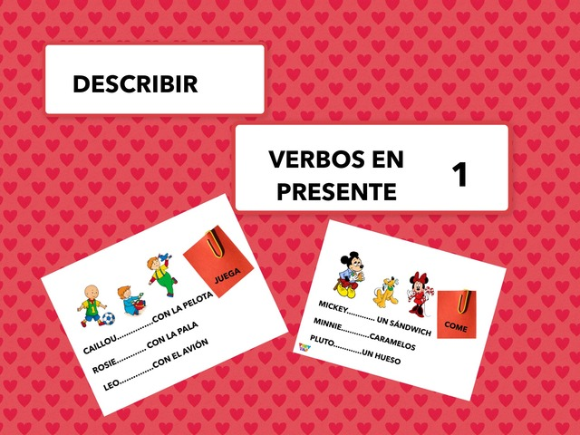 Describir Vb En Presente 1 by Francisca Sánchez Martínez