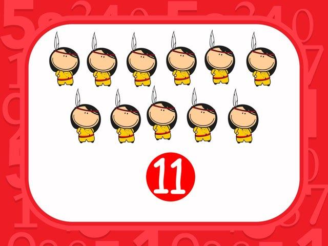 Numeros del  11-20 by Rosalva Correa