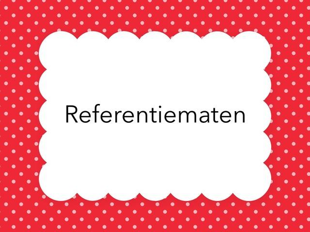 Referentiematen by Jora Kesteloot