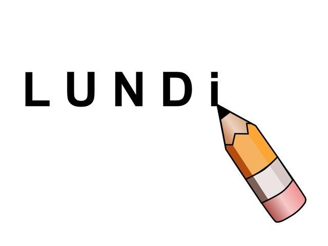Écrire Lundi by Valerie Escalpade