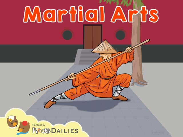 Martial Arts by Kids Dailies