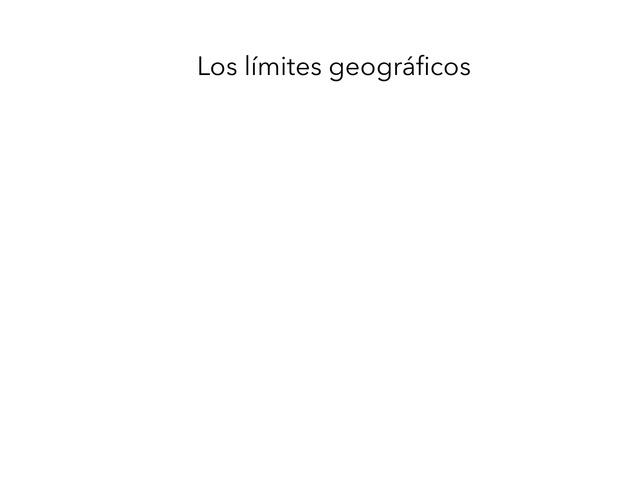 Sociales. Límites Geográficos. by Alexandra Lopez Ballero