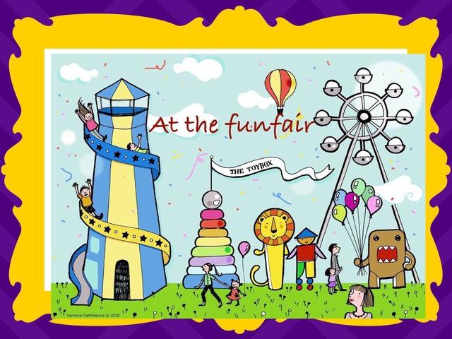 At The Funfair by Lama Ali