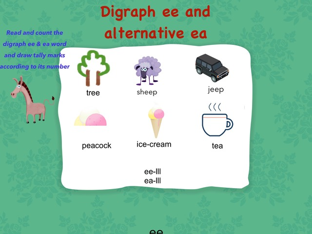 Digraph ee and alternative ea by aadish t