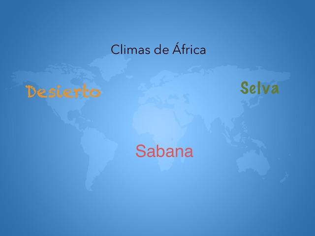 Los Climas De África  by Patricia Elvira lindo