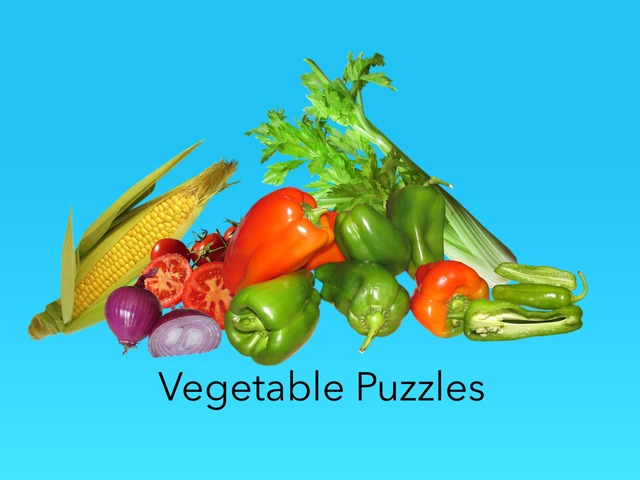 Vegetable Puzzles  by Carol Smith