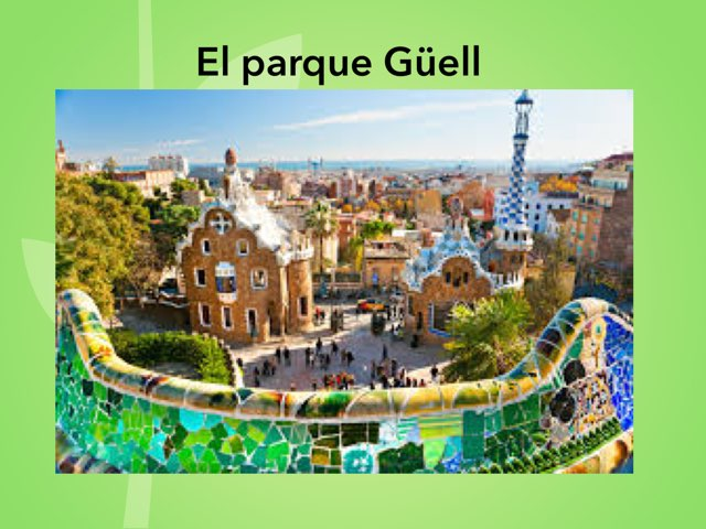 El Parque Güell by Rodica Harvey