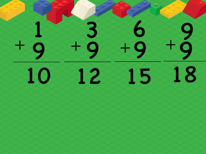 Adding 9s Puzzle by Cindy Derienzo