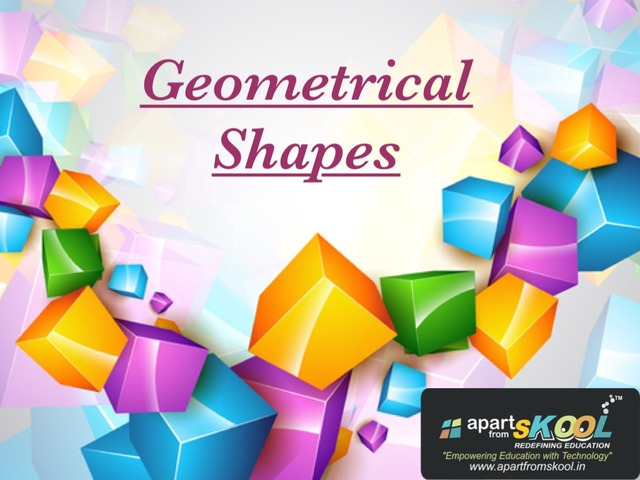 Geometrical Shapes by TinyTap creator