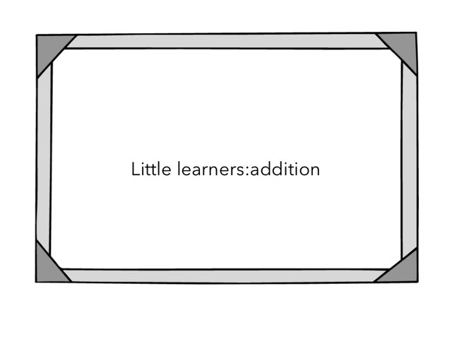 Little Learners:addition Level 1 by Flora Silver