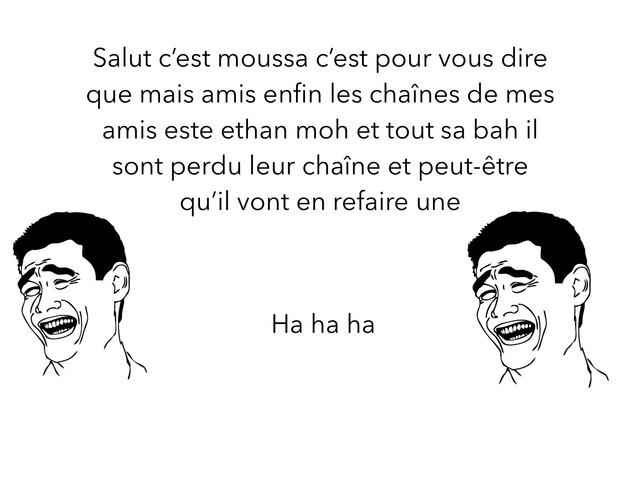 Vidéo Sur La Chaîne De Mais Amis by moussa