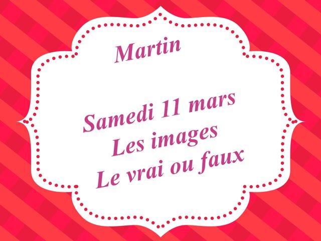 Martin - Samedi 11 mars - Les Images Et Le Vrai Ou Faux 2 by Caroline Gozdek