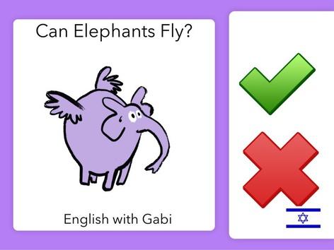 Can Elephants Fly? by English with Gabi אנגלית עם גבי
