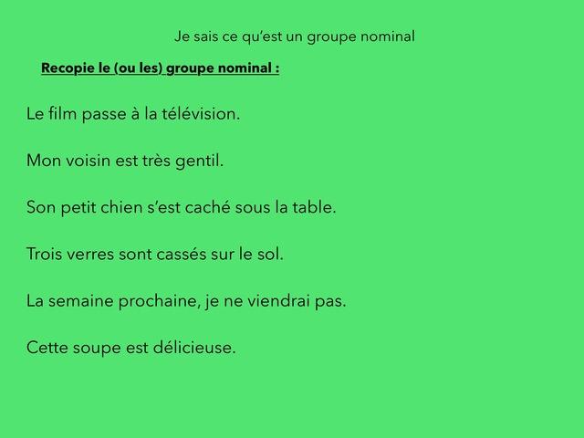 Grammaire Ceinture Verte by Mon Sieur
