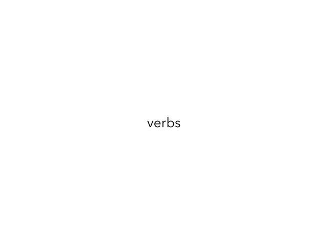 1st Verbs Bootcamp by Teeny Tiny TEFL