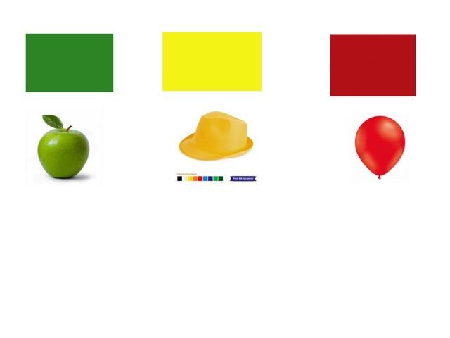 Igualación por color( Rojo,amarillo,verde) by Jessica Vera Nicolás
