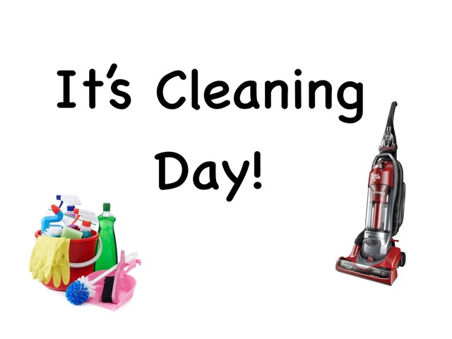 Cleaning Day by Amanda Riker