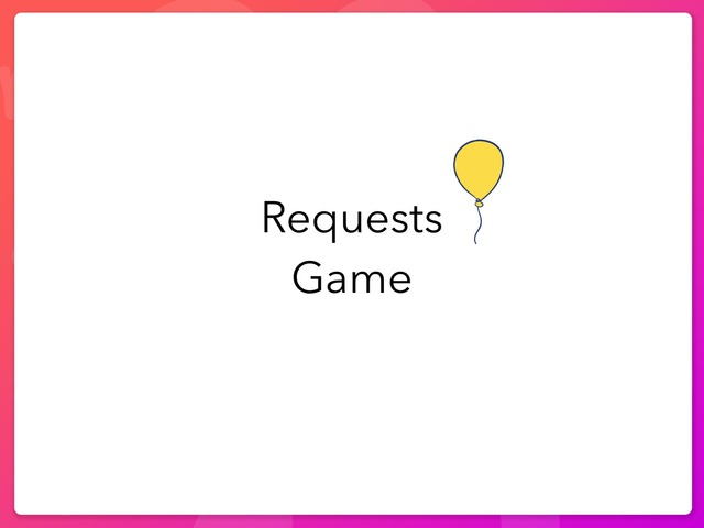 Request Game by Sumaya Alfahad