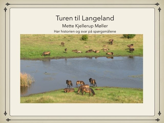 Turen Til Langeland by Anders And